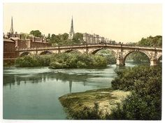 [English Bridge, Shrewsbury, England] | Library of Congress