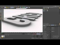 Tutorial: Clean & Professional Text in Cinema 4D - YouTube