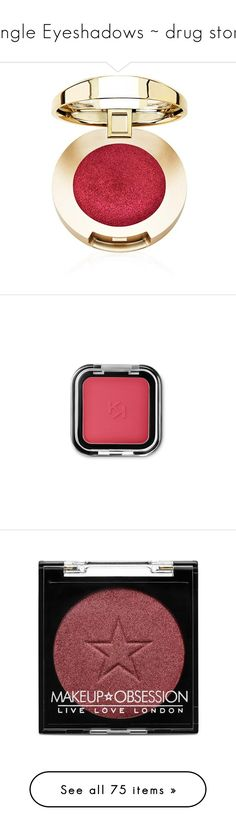 """""""Single Eyeshadows ~ drug store"""" by jmn312 ❤ liked on Polyvore featuring beauty products, makeup, eye makeup, eyeshadow, gel eyeshadow, creamy eyeshadow, beauty, cosmetics, eyes and rimmel eyeshadow"""