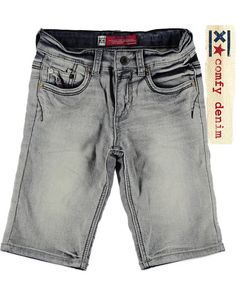 Blue Rebel Short sweat denim grijs - JongensShort sweat denimTwilight Wash €44,99