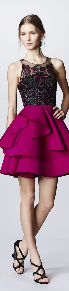 Marchesa Notte - Fall 2016 Ready-to-Wear