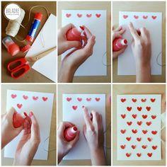 DIY - Valentine's Day Card - Tarjeta para San Valentín - BALADRE Crafting·Creativity