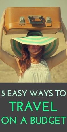 Tips for traveling inexpensively!