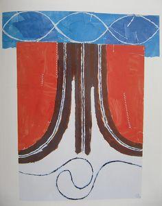Fritz Bultman, Explorer: Sky and Water, 1968