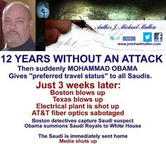 Obama was anointed by Saudi on a visit there. Study up people. Why ever did people vote for him?