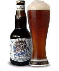 Abysmo Poseidón. Cerveza del tipo Dunkelweizen elaborada por Abysmo en Ecuador.