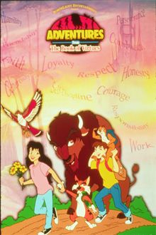 Adventures from the Book of Virtues Ohmygosh I was in love with this tv show when I was younger.