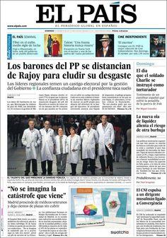 Los Titulares y Portadas de Noticias Destacadas Españolas del 12 de Mayo de 2013 del Diario el País ¿Que le parecio esta Portada de este Diario Español?