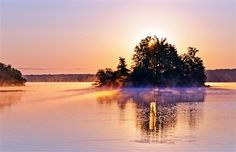 Thanks to Anna Tymczak Rzemieniuk for this photo of sunrise at the LaDue Reservoir in Ohio.