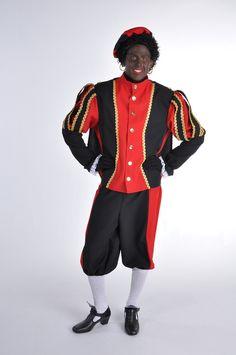 Zwarte Piet rood - zwart