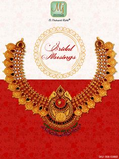 Be the perfectly traditional bride with this #beautiful gold, #Laxmi coin #necklace. #Shop at www.malanijewelers.com. Diamond Jewelry, Gemstone Jewelry, Gold Jewelry, Jewellery, Bridal Musings, Coin Necklace, Necklace Designs, Jewelry Collection, Advertising