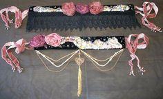 tribal fusion bellydance costume belt