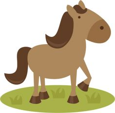 Horse: Miss Kate Cuttables--  SVG file for scrapbooking horse svg file svg files for scal cutting machines free svgs