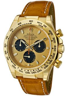 Rolex 116518 PNBR Men's Daytona Paul Newman Special Edition Automatic Chronograph Champa--- Normally don't like gold...but this I dig!