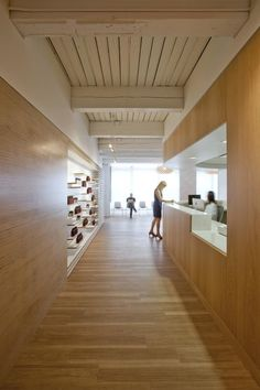 New warm woods and rich textures from the existing timber construction greet…