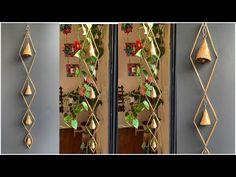 Wall Hanger, Plant Hanger, Diy Diwali Decorations, Diwali Diy, Black Spray Paint, Newspaper Crafts, Paper Crafts Origami, All Craft, Wind Chimes