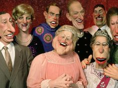Classic TV Shows - Spitting Image - 80's TV - TV Puppets.