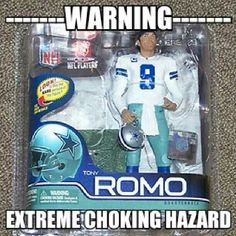 Let's get one thing straight....I'm a die-hard Dallas Cowboys' fan....however, I also have a sense of humor, along with something called reasoning. So.....considering how they lost today's game to the Green Bay Packerd, after they were leading 26 - 3 at the 'half', I think this joke is not so much a joke as it is a sad reminder. LMAO.