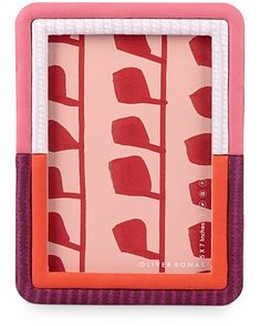 0b62a7e03039 Tulo Pink   Red Padded Photo Frame 5x7