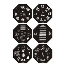 Nail Art Stamp Stamping Image Template Plate Q series 7 - US$ 1.99