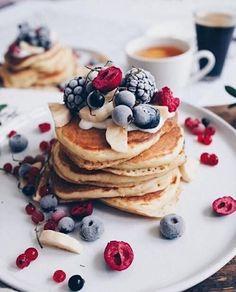 L'astuce pour faire des Pancakes Américains — leschosesquibrillent