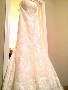 Essense of Australia D1417: buy this dress for a fraction of the salon price on PreOwnedWeddingDresses.com