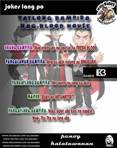 """Pang Halloween Special"" Mag-Tea nalang daw yong isang Bampira Jokes, Tea, Halloween, Movie Posters, Husky Jokes, Film Poster, Memes, Funny Pranks, Lifting Humor"