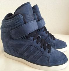 new concept 41486 ee1ec Adidas Originals Amberlight Up Womens Wedge Trainers Sizes 3.5 to 7.5 NEW