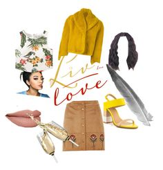 """""""Slayellow"""" by fashionfangirls on Polyvore featuring Jean-Paul Gaultier, Dorothy Perkins, ALDO and MANGO"""