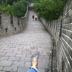 En la Muralla China