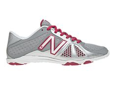 Minimus 20v2 Cross-Training in Silver with Pink by New Balance $84.99