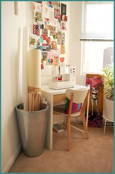 It would be nice if my sewing table looked like this...