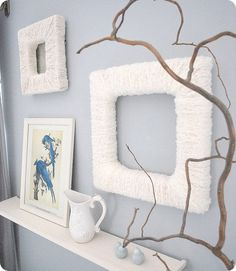 YARN PICTURE FRAMES