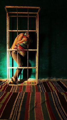 Nidaa Badwan, artista palestinese che vive in solitudine
