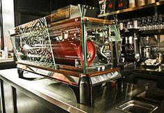 Now whats what I call a custom Espressomachine ! #custom #espressoparts #espresso