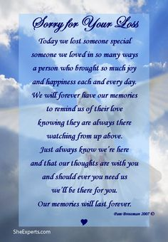 1000+ images about Condolences quotes on Pinterest ...