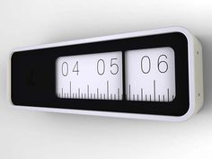 Linear Clock : designer Audun Ask Blaker