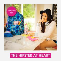 Are you The Hipster at Heart this year? Featured Pin! #KiplingSweeps