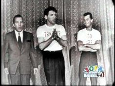 http://www.edsullivan.com/artists/tony-curtis - Tony Curtis celebrates his birthday with Ed Sullivan and Burt Lancaster on The Ed Sullivan Show on June 3, 1956.