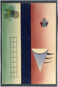 Wassily Kandinsky — Divided, 1928