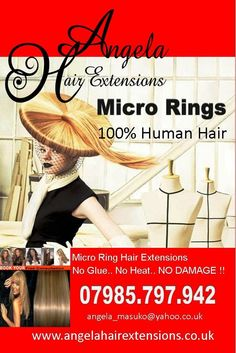 Micro ring hair extensions london visit our website www micro rings hair extensions 100 human hair angelahairextensions pmusecretfo Gallery