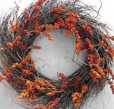 Bittersweet Wreath (Extra Large) - Creative Decorations by Ridgewood Designs