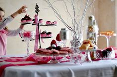 A nutcracker birthday party with tutus.   Great idea for my December girl's birthday.