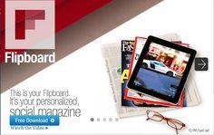 Приложението Flipboard се появи преди по-малко от месец, като в началото бе ексклузивно за притежателите на Samsung Galaxy S III. Малко по-късно разработчиците му пуснаха бета версия за Android базирани телефони, което бе достъпно за сваляне след записване в сайта на приложението и одобрението на акаунта.