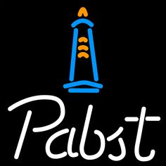 Pabst Light House Neon Beer Sign 16x16, Pabst  Neon Beer Signs & Lights   Neon Beer Signs & Lights. Makes a great gift. High impact, eye catching, real glass tube neon sign. In stock. Ships in 5 days or less. Brand New Indoor Neon Sign. Neon Tube thickness is 9MM. All Neon Signs have 1 year warranty and 0% breakage guarantee.