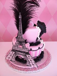 Fun Paris Cake