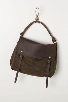 Miller Messenger Bag #anthropologie     new school bag.....?