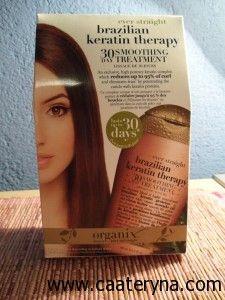 Brazilian Keratin Treatment...Cheapie version. Not all a treatment, but nourishing.