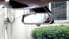 Interior car rearview mirror cover trim 1pcs For BMW X1 E84 2009 -2015