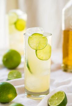 Make a healthy margarita with minimal effort using this all-natural recipe. All you need is lime juice, agave, and tequila. Done. Grab the recipe here.